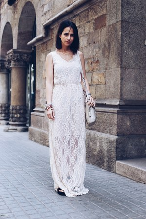 off white Twist & Tango dress - eggshell Tous bag