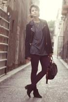 Mango boots - Zara jacket - asos leggings