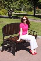 Zara blouse - Promod pants