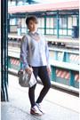 Light-blue-boyfriend-shirt-target-shirt-hot-pink-nike-air-max-nike-sneakers
