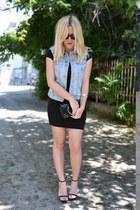 Zara vest - Zara sandals