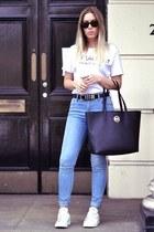Sheinside blazer - Sheinside t-shirt
