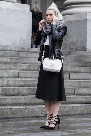 luisaviaroma bag - Sante heels - CutCuutur top - Front Row Shop skirt