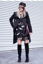 Gat Rimon dress - Choies boots - Gat Rimon bag