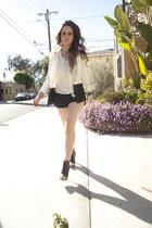 Rieley blouse - Jessica Simpson boots - H&M blazer