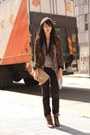 Brown-random-from-hong-kong-boots-black-forever-21-jeans-dark-brown-zara-bla