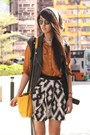 Burnt-orange-zara-shirt-orange-zara-bag-heather-gray-zara-skirt