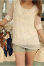 Beige-chiffon-blouse