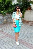 H&M sunglasses - H&M sneakers - Koton top