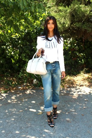 İpekyol jacket - Mango bag - Zara heels - Scotch&Soda t-shirt - Levis belt