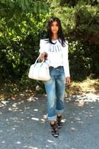 İpekyol jacket - Mango bag - Zara heels - Scotch&Soda t-shirt - Levis belt