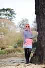Light-pink-faux-fur-diy-bag-sunglasses-primark-sunglasses