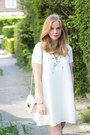 White-crepe-bash-dress-light-pink-leather-furla-bag