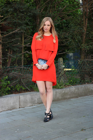 red whistles dress