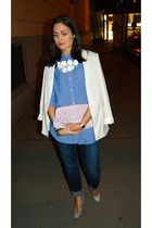 casio watch - H&M blazer - H&M bag - Marni for H&M necklace