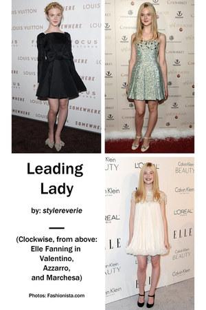 Valentino dress - Azzaro dress - marchesa dress