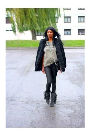 charcoal gray Isabel Marant boots