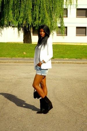 black Isabel Marant boots