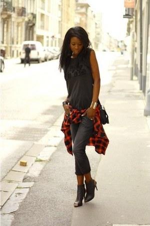 black Mango heels