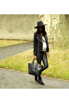 black ashley Alexander Wang boots
