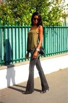 black Mango jeans