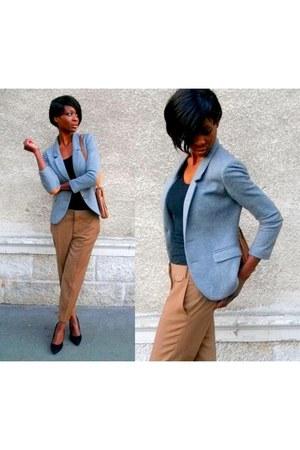 tawny chino Zara pants