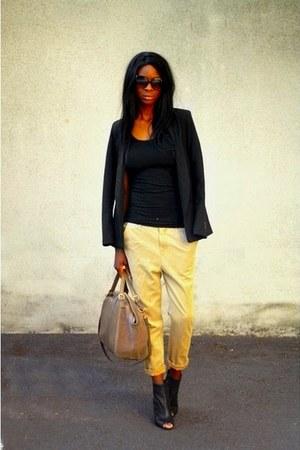 tan H&M pants