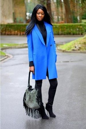 blue etam coat