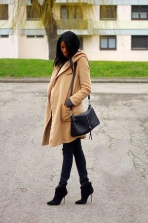 camel Choies coat
