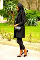black etam coat