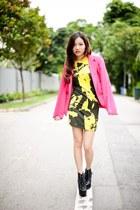 shop style societe jacket - Nasty Gal dress