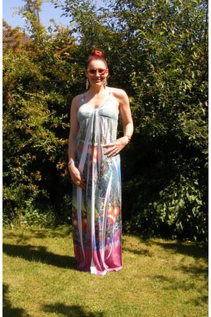 ICE dress - Moschino sunglasses