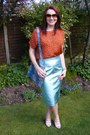 Light-blue-marks-and-spencer-skirt