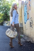 Furla bag - Zara pants - H&M blouse