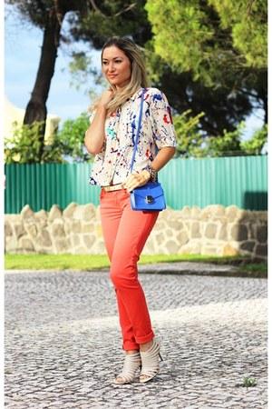 Zara shirt - Zara jeans - Zara bag