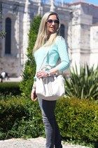 Primark bag - zilian shoes - H&M jeans - Stradivarius blouse