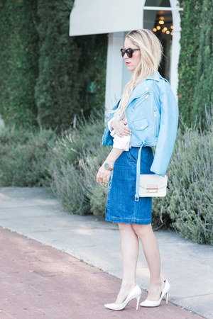 jean Cosette Clothing dress - Zara jacket - Nordstrom heels