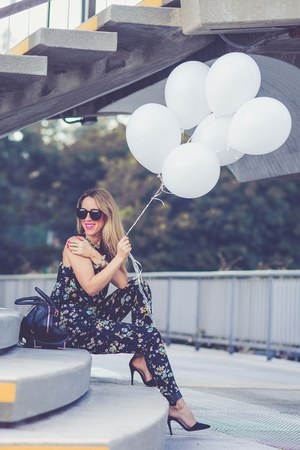 Alexander Wang bag - Karen Walker sunglasses - Zara heels - asoscom pants