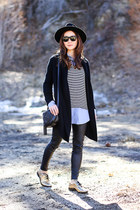 Cole Haan shoes - ann taylor leggings - Splendid shirt - Gucci bag