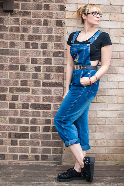 dungarees Disney bodysuit - crop top Topshop top