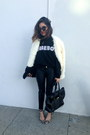 Minkpink-coat-faux-leather-h-m-pants-stylestalker-sweatshirt
