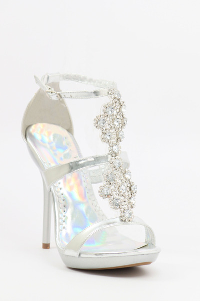 "Prom Shoes Shopzoey Heels | ""Silver prom shoes!"" by stylez 