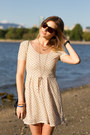 Beige-urban-outfitters-dress-black-h-m-bag-camel-zara-wedges