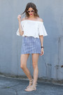 White-howl-top-blue-topshop-skirt-neutral-rebecca-minkoff-sandals