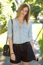Blue-guess-heels-light-blue-urban-outfitters-shirt-silver-botkier-bag