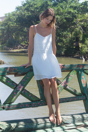 white KAYVALYA dress
