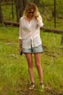 Cream-h-m-shirt-light-blue-h-m-shorts
