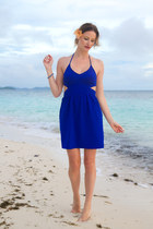 blue XO Bella dress