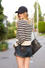 Black-topshop-boots-navy-striped-h-m-sweater-black-one-teaspoon-shorts