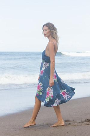 blue KAYVALYA dress
